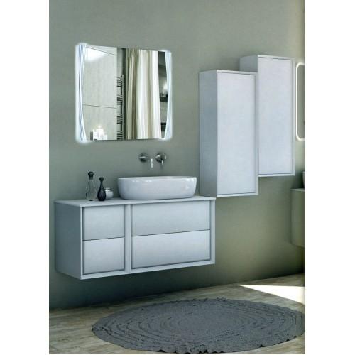 Зеркало в ванную с подсветкой Саманта